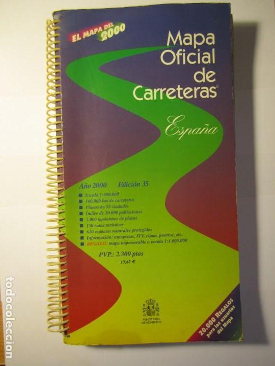 EL MAPA DEL 2000 MAPA OFICIAL DE CARRETERAS ESPAÑA MINISTERIO DE FOMENTO (Coleccionismo - Mapas - Mapas actuales (desde siglo XIX))