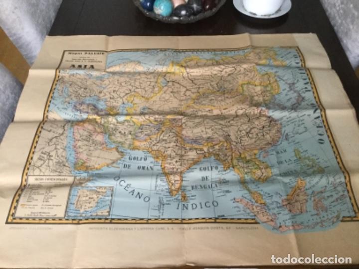 MAPA ASIA 1941 (Coleccionismo - Mapas - Mapas actuales (desde siglo XIX))