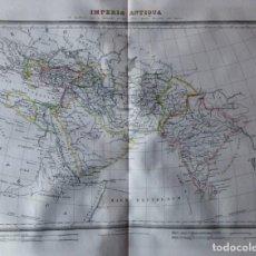 Mapas contemporáneos: MAPA IMPERIA ANTIQUA Y EXPEDICIONES DE CIRO Y ALEJANDRO BARCELONA 1835. RAMÓN ALABERN.. Lote 132634038