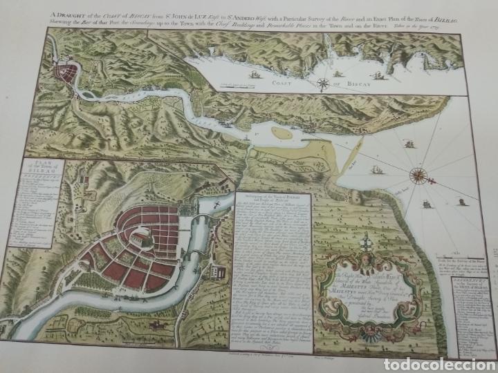 Golfo De Vizcaya Mapa.Mapa Reservado L Golfo De Vizcaya Ciudad De Vendido En