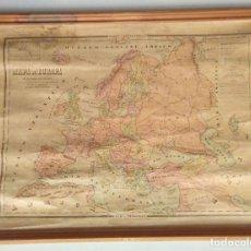 Mapas contemporáneos: MAPA POLÍTICO DE EUROPA, AÑO1922. Lote 25933176