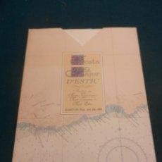 Mapas contemporáneos: CARTA ESFÈRICA DE LA COSTA DE LLORET DE MAR , DES DE PUNTA DE S'AGULLA A CALA MORISCA - 1995. Lote 133506170