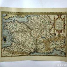 Mapas contemporáneos: LOTE DE 3 MAPAS. GALLIAE REGNI POTENTISS. GERMANIA. RUSSIAE, MOSCOVIAE. 1990.. Lote 133916726