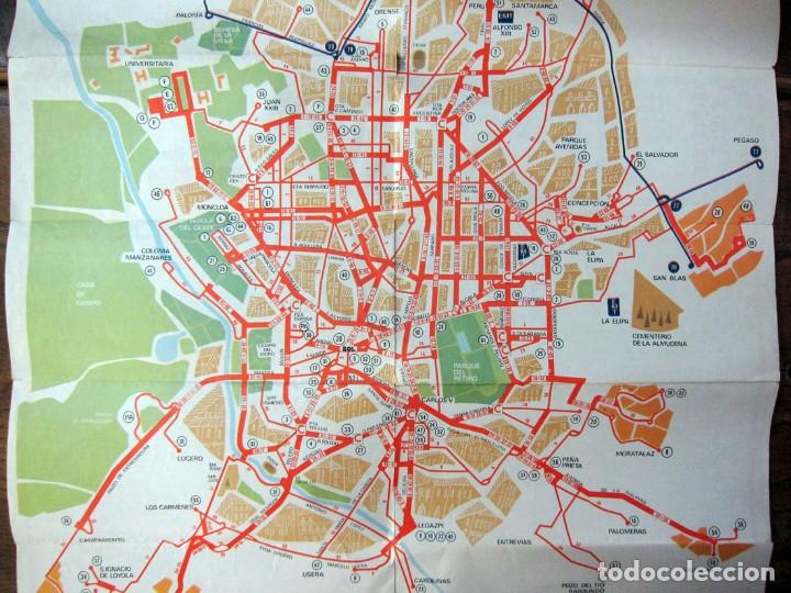 Mapa Lineas Emt Madrid.Plano De Lineas Itinerarios Emt Madrid 197 Vendido En Venta Directa 134223154