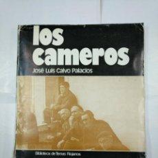 Mapas contemporáneos: LOS CAMEROS. JOSE LUIS CALVO PALACIOS. INSTITUTO DE ESTUDIOS RIOJANOS 1977. ESTUCHE DE PLANOS TDK301. Lote 134858826