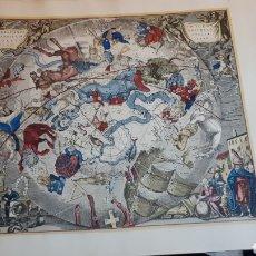 Mapas contemporáneos: FACSÍMIL HAEMISPHAERI GRAPHICUM COELI TIET. Lote 137158865