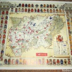 Mapas contemporáneos: PLANO PROVINCIA DE JAÉN AÑO 1994 CAJASUR. Lote 137940417