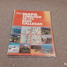Mapas contemporáneos: MAPA TURÍSTICO DE LAS RIAS GALLEGÀS. . 1976.... Lote 138665378