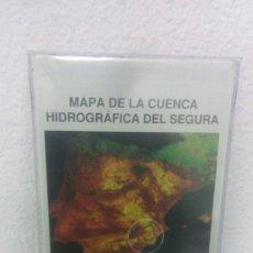 Mapas contemporáneos: MAPA DE LA CUENCA HIDROGRAFICA DEL SEGURA. MINISTERIO DE MEDIO AMBIENTE. CONFEDERACION RIO.. Lote 241979530