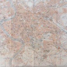 Mapas contemporáneos: PLANO ROMA ANTIGUO - AÑO 1909 - LITOGRAFÍA. Lote 138871237