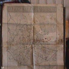Mapas contemporâneos: MAPA GENERAL DE ABISINIA (ACTUAL ETIOPÍA). EDITADO POR LA VANGUARDIA.1934.. Lote 138925958