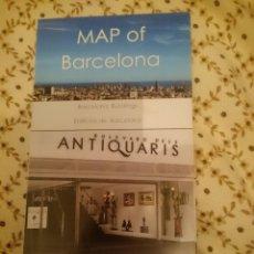 Mapas contemporáneos: MAP OF BARCELONA - EN INGLES. Lote 138967154