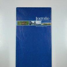 Mapas contemporáneos: LOGROÑO PLANO CALLEJERO. 2004. TDKP11. Lote 140297058