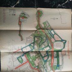 Mapas contemporáneos: PLANO DE BARCELONA, EXPOSICION 1929, RUDOLF MOSSE IBERICA S.A., EXPO INTERNACIONAL. Lote 140479433