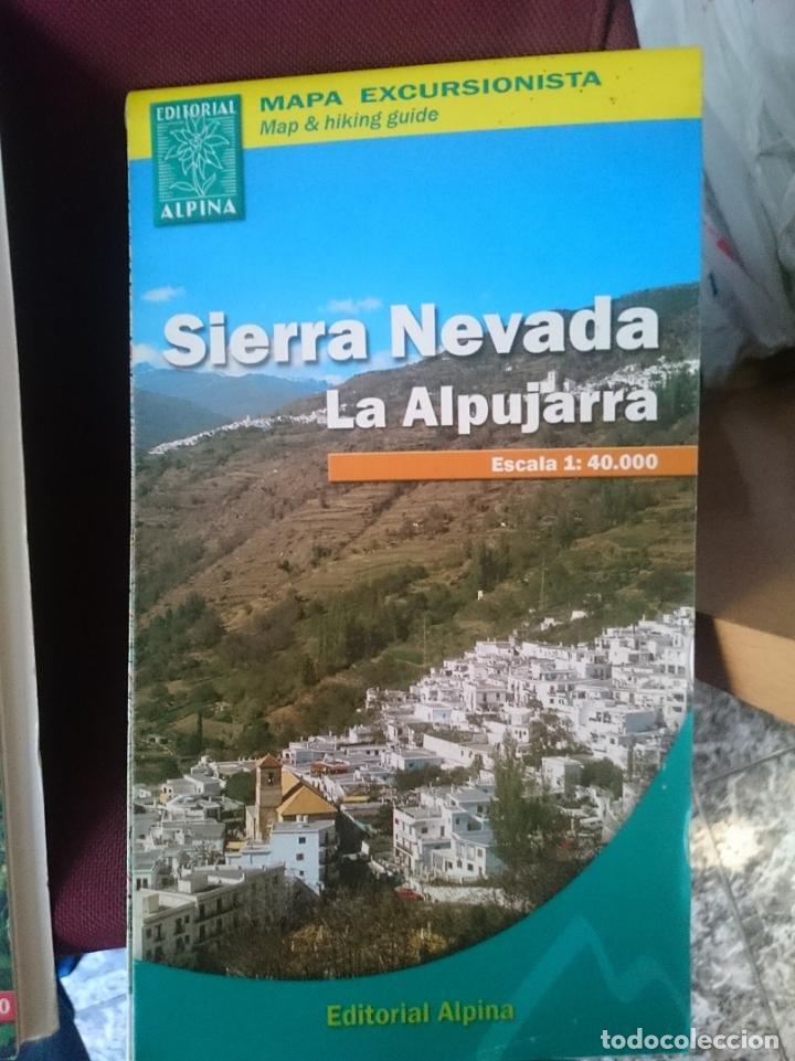 Mapa De La Alpujarra.Mapa Sierra Nevada La Alpujarra Refm2e5