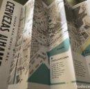 Mapas contemporáneos: MAPA DESPLEGABLE DE MÁLAGA, ANDALUCÍA. PUBLICITARIO DEL FESTIVAL ABIERTO DE JAZZ. CON PROGRAMA. 2018. Lote 140581742