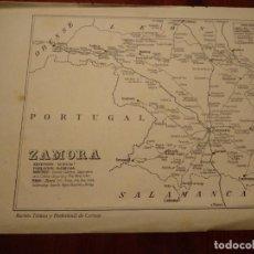 Mapas contemporáneos: ZAMORA, CORRALES, BGENAVENTE, ETC. - AÑO 1943 - PLANO DE LA REVISTA TÉCNICA Y PROFESIONAL DE CORREOS. Lote 141252366