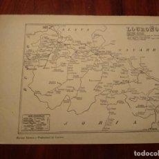 Mapas contemporáneos: LOGROÑO, ARNEDO, ALFARO, ETC. - AÑO 1943 - PLANO DE LA REVISTA TÉCNICA Y PROFESIONAL DE CORREOS. Lote 141253162