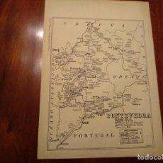 Mapas contemporáneos: PONTEVEDRA, LA ESTRADA , ETC. - AÑO 1943 - PLANO DE LA REVISTA TÉCNICA Y PROFESIONAL DE CORREOS. Lote 141253646