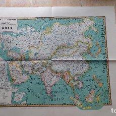 Mapas contemporáneos: MAPA DE ASIA. MAPAS PALUZÍE. Lote 142038442