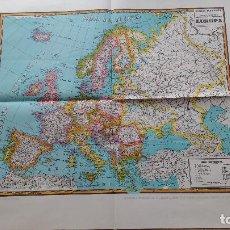 Mapas contemporáneos: MAPA DE EUROPA. MAPAS PALUZÍE.. Lote 142038938