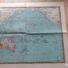 Mapas contemporáneos: MAPA DE OCEANÍA. MAPAS PALUZÍE. Lote 142039850