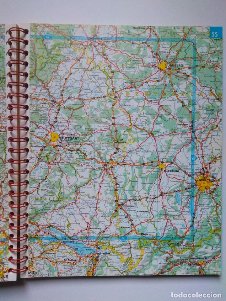 Atlas Mapa De Carreteras Europa Michelin 1997 Buy Contemporary