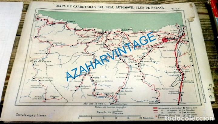 Mapa De Carreteras Entelado De La R A C E Re Sold Through