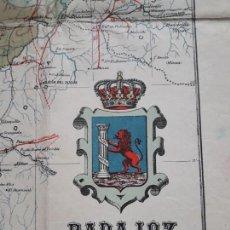 Mapas contemporáneos: MAPA EN TELA DE BADAJOZ. 1930 (DE BENITO CHÍAS). Lote 143182462