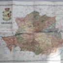 Mapas contemporáneos: MAPA EN TELA DE CÁCERES. 1930 (DE BENITO CHÍAS). Lote 143183526