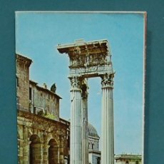 Mapas contemporáneos: PLANO-GUÍA DE ROMA. TEXTO EN ITALIANO. Lote 143374754