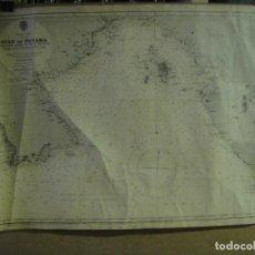 Mapas contemporáneos: MAPA , CARTA DE NAVEGACION DEL GOLFO DE PANAMA - DESDE CABO MARZO HASTA PUNTA MARIATO. Lote 143947758