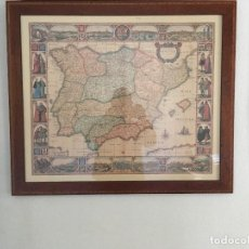 Mappe contemporanee: CARTOGRAFIA DE ESPAÑA NOVA ET ACCURATA TABULA HISPANIAE - 1633 EDICION LIMITADA 600 Nº 333. Lote 144467566