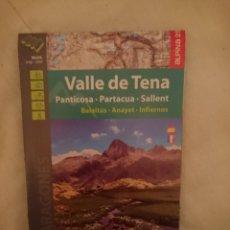 Mapas contemporáneos: MAPA - VALLE DEL TENA -PANTICOSA -PARTACUA -SALLENT - BALAITUS -ANAYET -INFIERNOS. Lote 145299946