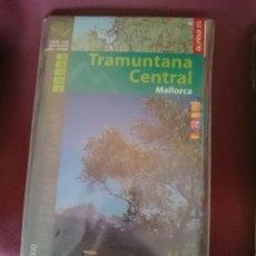 Mapas contemporáneos: MAPA Y GUIA - TRAMUNTANA CENTRAL MALLORCA -EN ESPAÑOL CATALAN FRANCES E INGLES. Lote 145300586