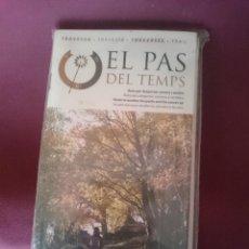 Mapas contemporáneos: MAPA Y GUIA - EL PAS DEL TEMPS --EN ESPAÑOL CATALAN FRANCES E INGLES -VER FOTOS. Lote 145300610