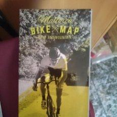 Mapas contemporáneos: MAPA CICLOTURISTA - MALLORCA BIKE MAP - ROAD AND MOUNTAIN. Lote 145300618