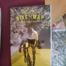 Mapas contemporáneos: MAPA CICLOTURISTA - MALLORCA BIKE MAP - ROAD AND MOUNTAIN. Lote 145300626