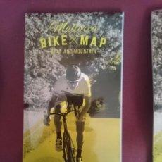 Mapas contemporáneos: MAPA CICLOTURISTA - MALLORCA BIKE MAP - ROAD AND MOUNTAIN. Lote 145300630