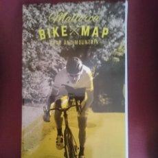 Mapas contemporáneos: MAPA CICLOTURISTA - MALLORCA BIKE MAP - ROAD AND MOUNTAIN. Lote 145300638