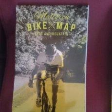 Mapas contemporáneos: MAPA CICLOTURISTA - MALLORCA BIKE MAP - ROAD AND MOUNTAIN. Lote 145300642