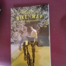 Mapas contemporáneos: MAPA CICLOTURISTA - MALLORCA BIKE MAP - ROAD AND MOUNTAIN. Lote 145300650