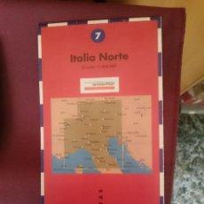 Mapas contemporáneos: MAPA - LA VANGUARDIA RUTAS - N 7 - ITALIA NORTE. Lote 145300722