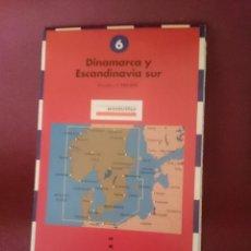 Mapas contemporáneos: MAPA - LA VANGUARDIA RUTAS - N 6 - DINAMARCA Y ESCANDINAVIA SUR. Lote 145300730