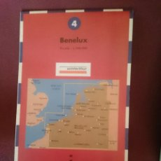 Mapas contemporáneos: MAPA - LA VANGUARDIA RUTAS - N 4 - BENELUX. Lote 145300742