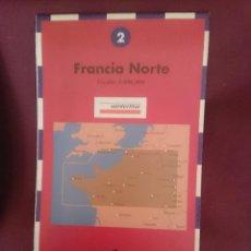 Mapas contemporáneos: MAPA - LA VANGUARDIA RUTAS - N 2 - FRANCIA NORTE. Lote 145300758