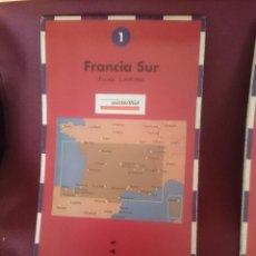 Mapas contemporáneos: MAPA - LA VANGUARDIA RUTAS - N 1 - FRANCIA SUR. Lote 145300766