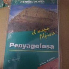 Mapas contemporáneos: MAPA Y GUIA - PENYAGOLOSA -BILINGÜE -REF-HAULDEPUCANINIZPAATR. Lote 145380838