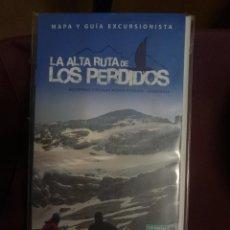 Mapas contemporâneos: MAPA Y GUIA - LA ALTA RUTA DE LOS PERDIDOS - MONTE PERDIDO - VIGNEMALE -REF-HAULDEPUCANINIZPADE. Lote 145454994