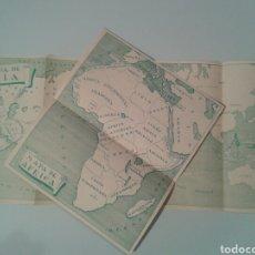 Mapas contemporâneos: MAPAS ESCOLARES ESPAÑOLES ANTERIORES A 1932.. Lote 145535456